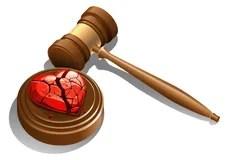 Divorce Decree Royalty Free Stock Images