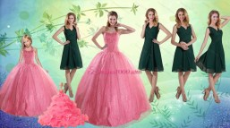 Rose Pink Quinceanera Dresses