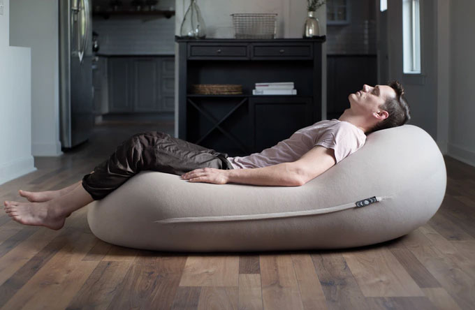 anti gravity sex chair steelcase leap used moon pod anxiety float dudeiwantthat com