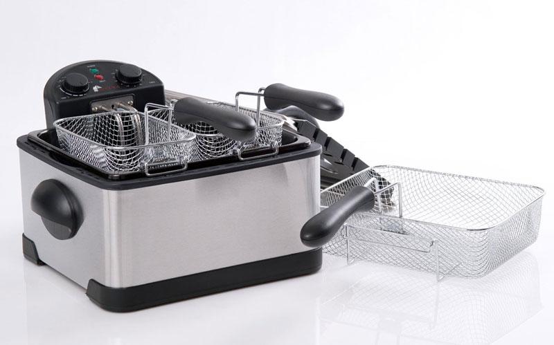 kitchener triple basket deep fryer kitchen knives sets dudeiwantthat com