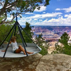 Tree Hanging Hammock Chair Childs Folding Flying Saucer Dudeiwantthat Com