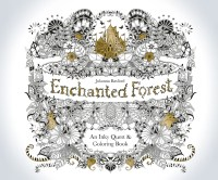 Enchanted Forest: An Inky Quest & Coloring Book ...