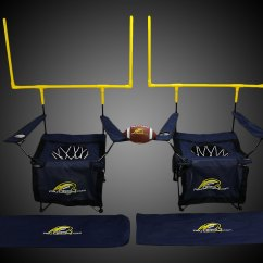 Chair Ball Game White Covers With Gold Bows Qb54 Lawn Football Dudeiwantthat