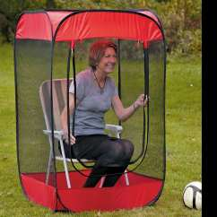 Soccer Mom Covered Chairs Vintage Barber Pop Up Bug Tent Dudeiwantthat