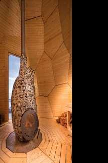 Solar Egg - Golden Sauna