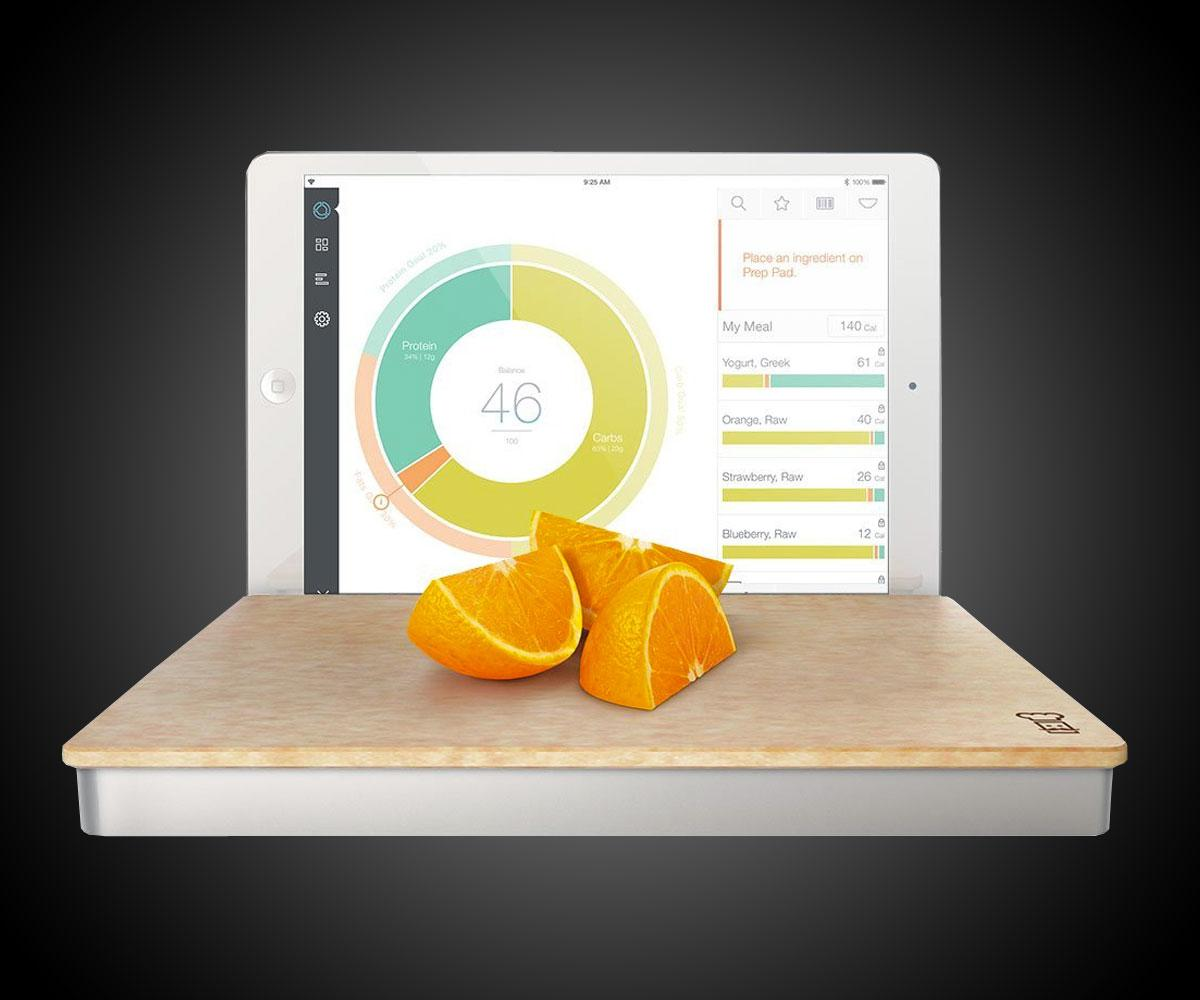Prep Pad Smart Food Scale  DudeIWantThatcom