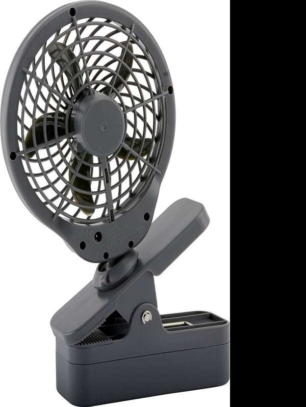 "5"" Battery Operated Clip Fan"