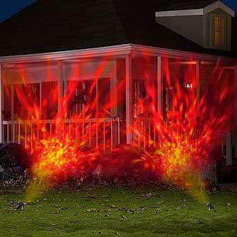 Fire  Ice Light Show  DudeIWantThatcom