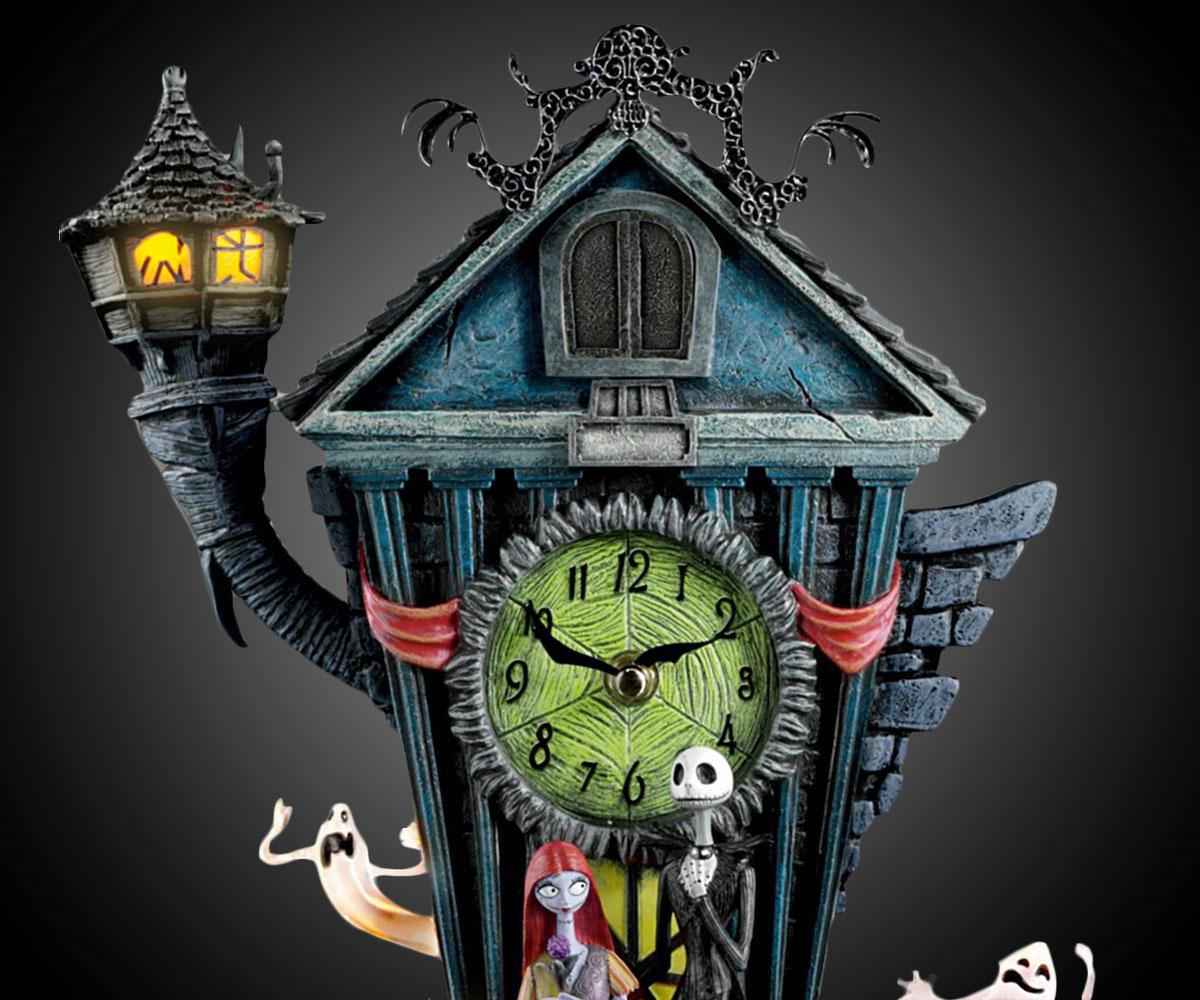 Nightmare Before Christmas Cuckoo Clock  DudeIWantThatcom
