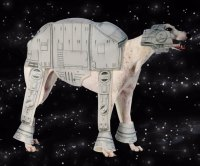 AT-AT Dog Costume | DudeIWantThat.com