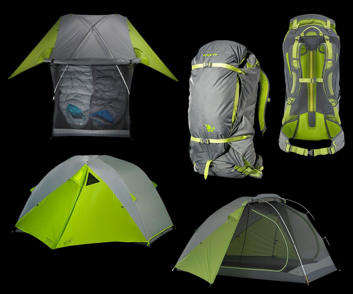 Giveaway Kelty TraiLogic Tent  Zipperless Backpack
