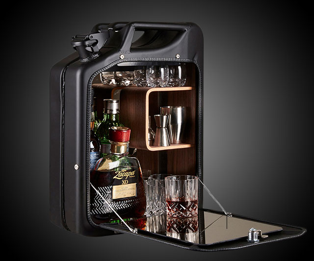 Jerry Can Bar Cabinet  DudeIWantThatcom