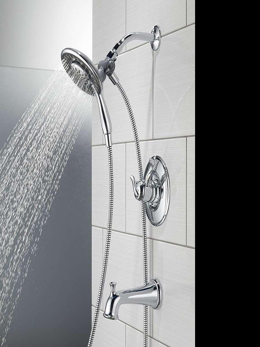 Delta In2ition 2in1 Shower Head  DudeIWantThatcom
