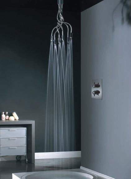 kitchen sink images bosch appliance packages tentacled shower head | dudeiwantthat.com