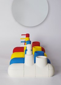 Yellow Submarine Bathroom Accessory Set | DudeIWantThat.com