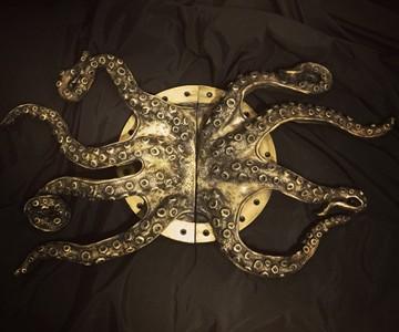 Steampunk Octopus Door Handles  DudeIWantThatcom