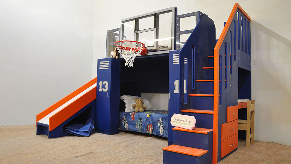 Basketball Bunk Bed Dudeiwantthat Com