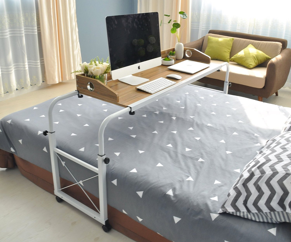 ikea sofa with wheels high end tables overbed table  nazarm