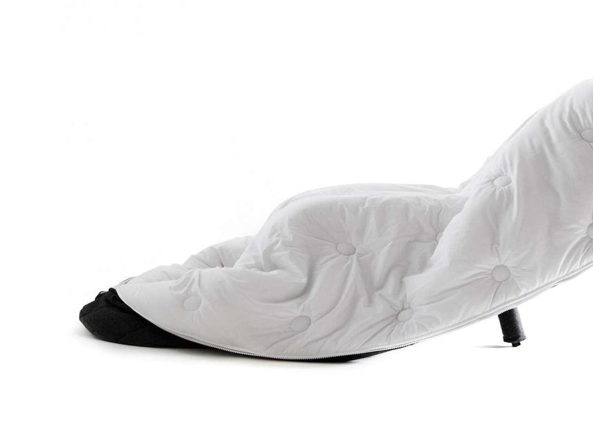 Sleeping Bag Chair  DudeIWantThatcom