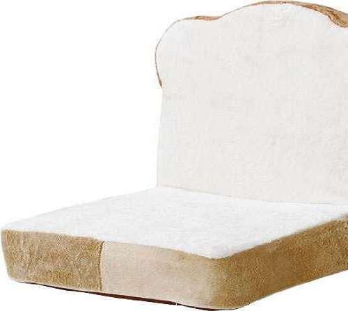 big joe roma floor chair fur desk sliced bread | dudeiwantthat.com