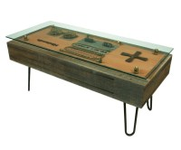 Steampunk Nintendo Controller Coffee Table | DudeIWantThat.com