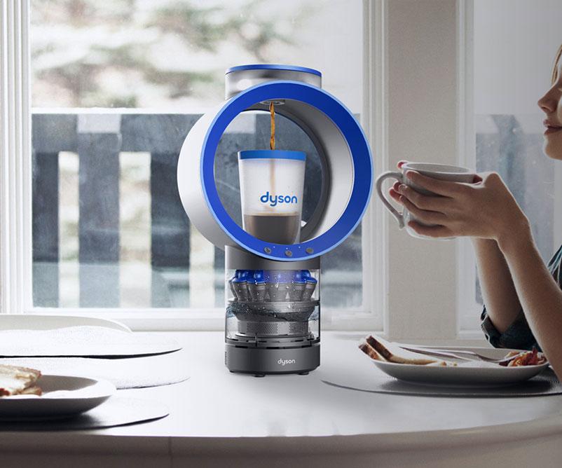 Dyson Cyclone Belt Coffee Machine  DudeIWantThatcom