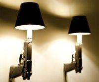 Gun Lamps | DudeIWantThat.com