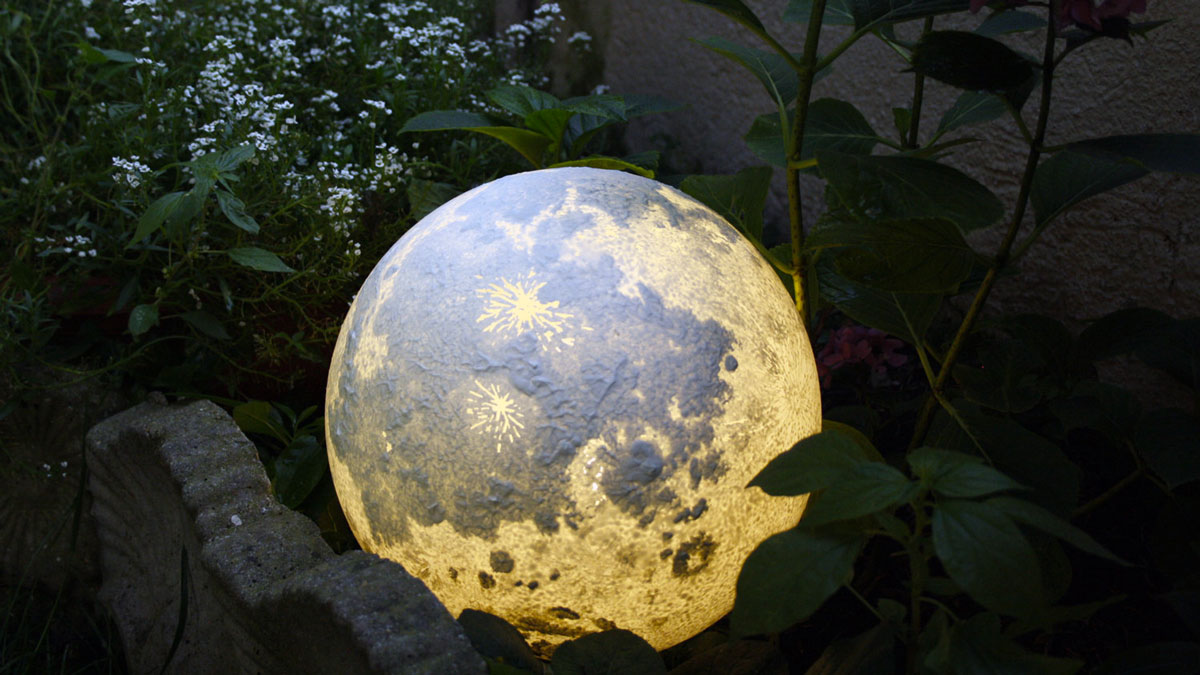 Moon  Planet Lamps  DudeIWantThatcom