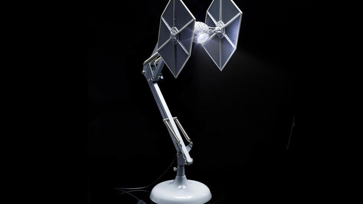 Star Wars TIE Fighter Posable Desk Lamp  DudeIWantThatcom