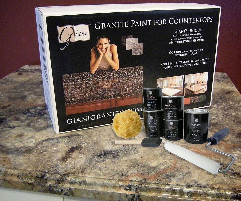 Giani Countertop Paint Kits  DudeIWantThatcom