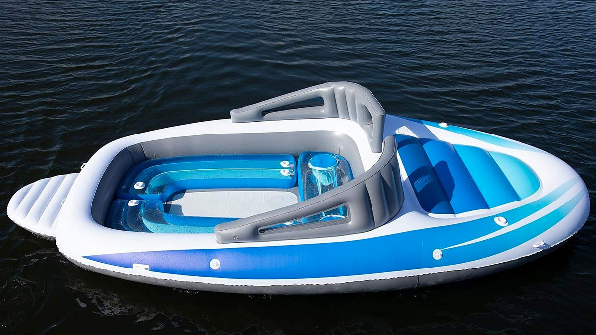 6 Person Inflatable Speed Boat