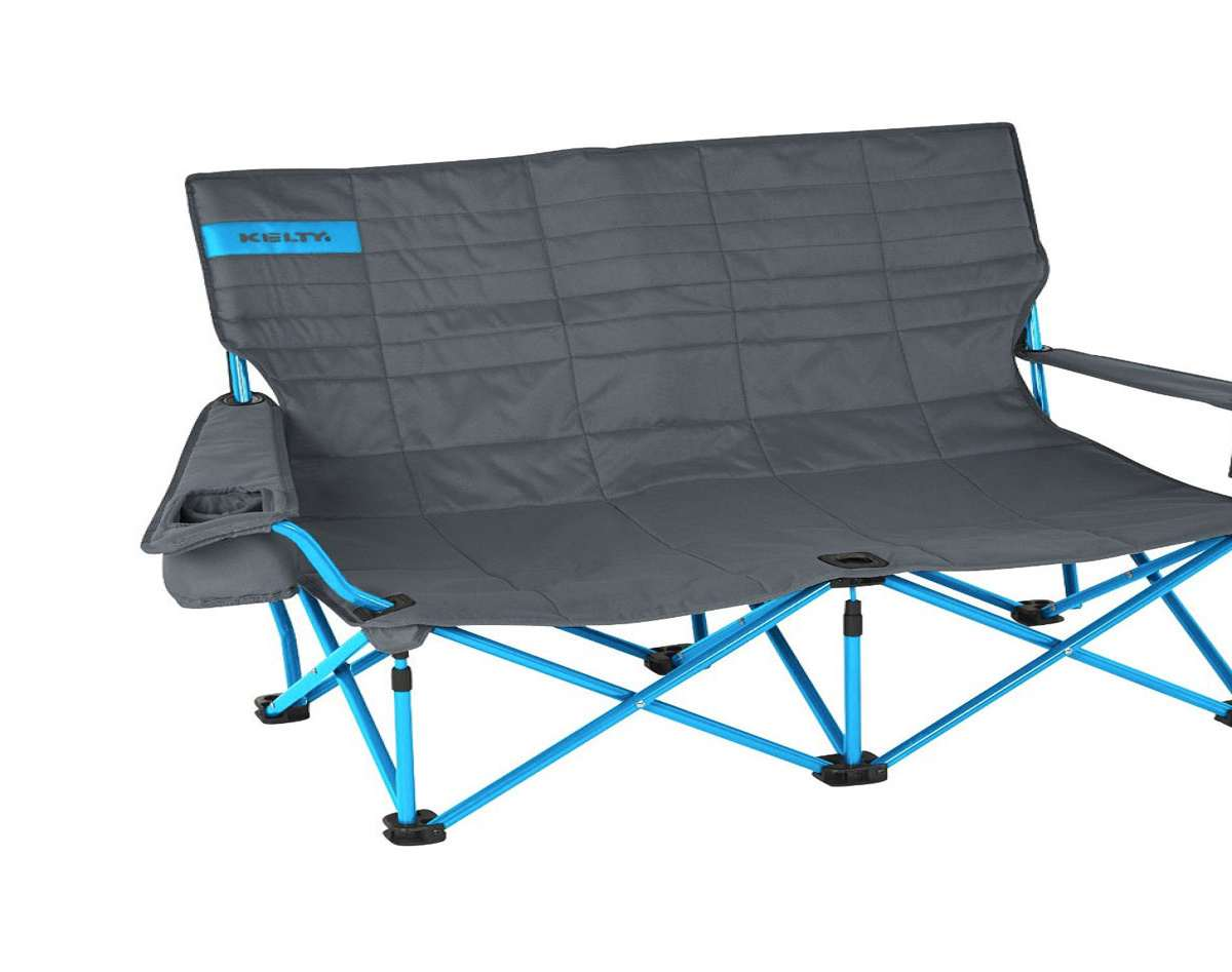 low back chairs for concerts revolving camping chair kelty loveseat dudeiwantthat