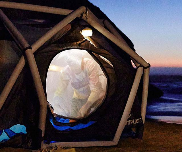 The Cave Inflatable Tent  DudeIWantThatcom
