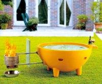 ALFI Wood-Burning Hot Tub   DudeIWantThat.com