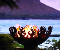 Great Bowl O' Fire Steel Firepit   DudeIWantThat.com