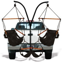Fishing Chair Amazon Outdoor Rocking Chairs For Sale Hammaka Trailer Hitch Stand | Dudeiwantthat.com