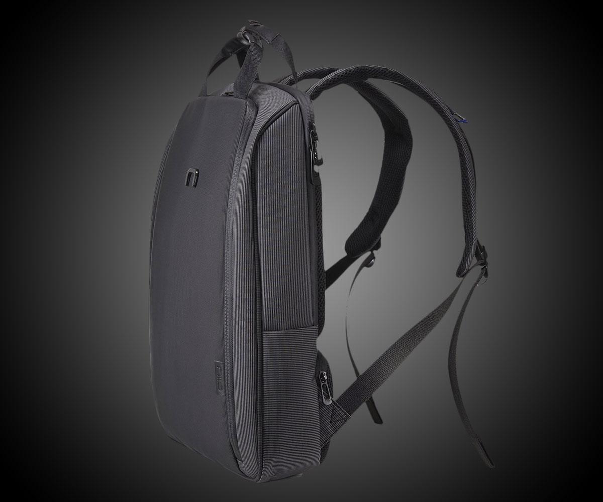 Slim Water Repellent Laptop Backpack  DudeIWantThatcom