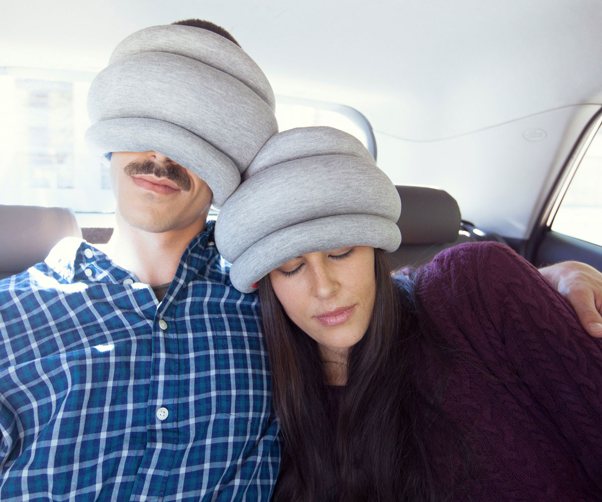 Ostrich Pillow Light  DudeIWantThatcom