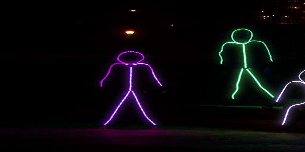 ... led stick figure halloween costume meningrey ... & Light Up Stick Figure Halloween Costume - Halloween Decorations