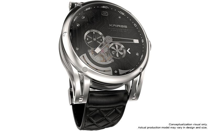 Kairos Hybrid Smartwatch | DudeIWantThat.com