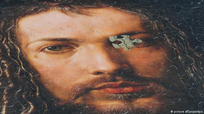Puzzle picture self-portrait Dürrer