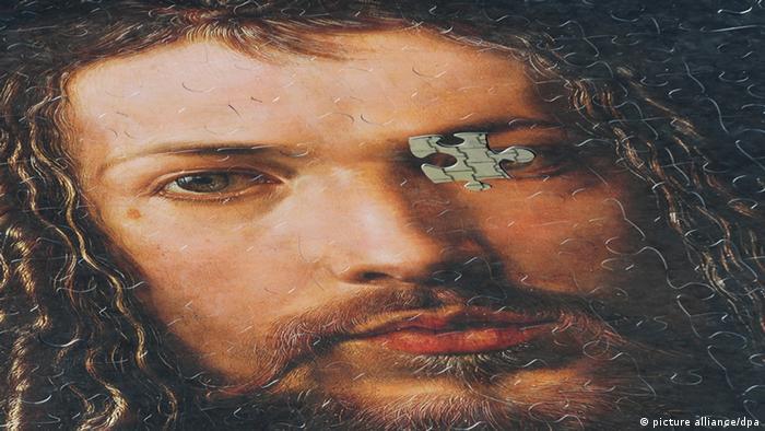 Puzzle with the portrait of Dürer.