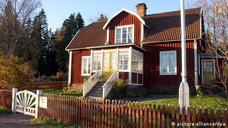 Holzhaus in Schweden