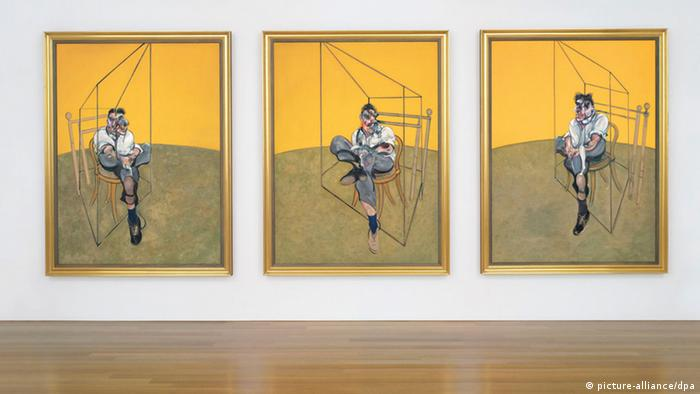 Francis Bacon's Triptychon Freud (REUTERS)