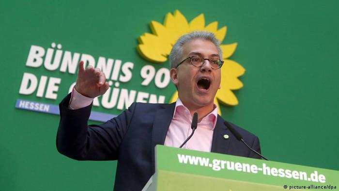 Bündnis 90/Die Grünen Tarek Al-Wazir, Abstimmung Koalition mit CDU 21.12.2013