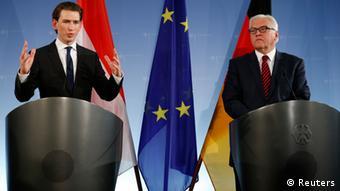 Ο Σεμπάστιαν Κουρτς ως υπουργός Εξωτερικών