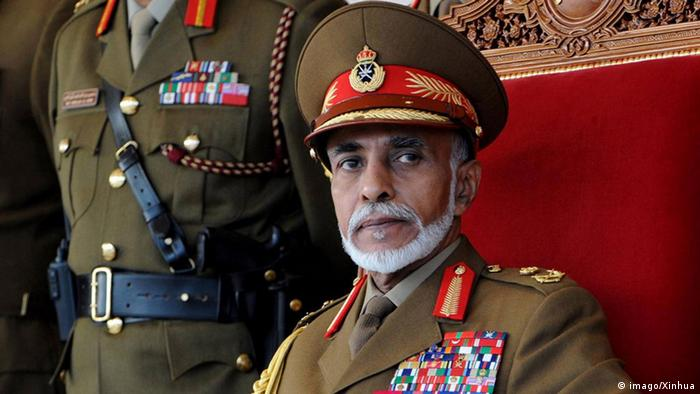 Oman Sultan Qabus (imago/Xinhua)