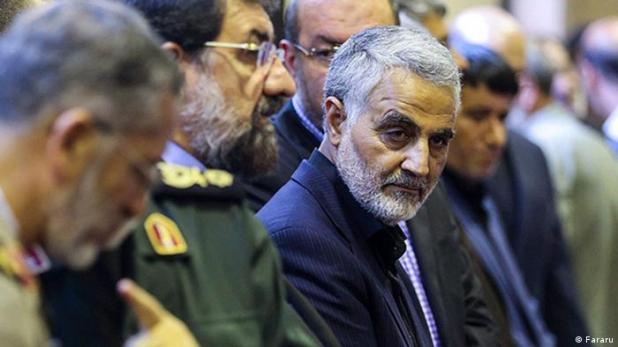 Iran Kommandant Ghasem Soleymani (Fararu)