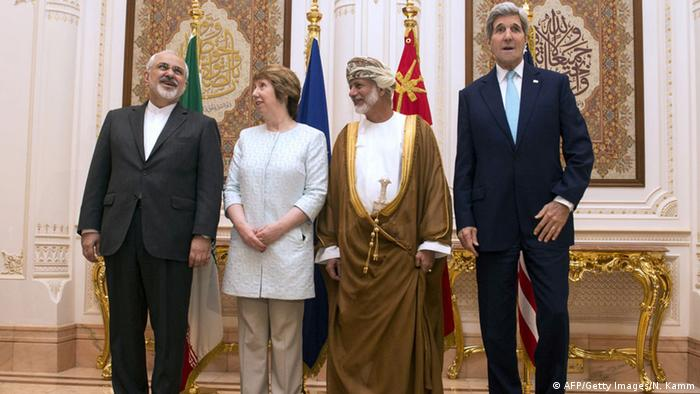 Trilateral Atomic Meeting in Oman (AFP / Getty Images / N. Kamm)