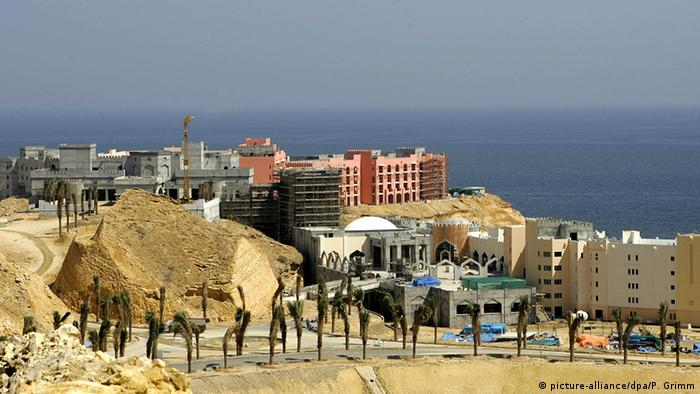 Oman tourism hotel project in Muscat (picture-alliance / dpa / P. Grimm)